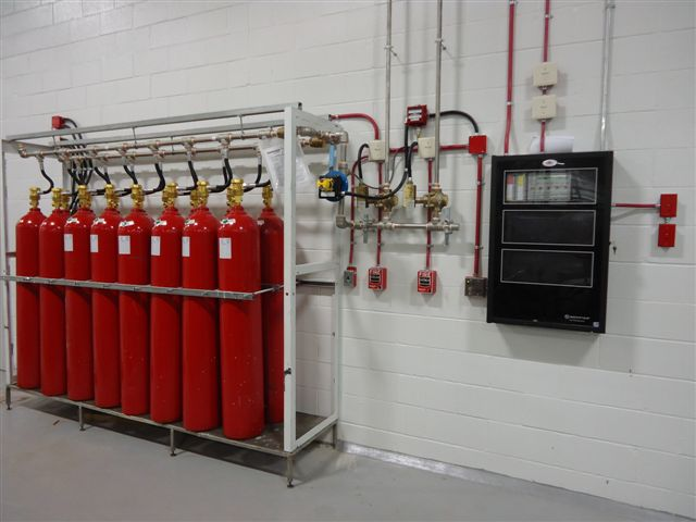 Control Fire C02 System