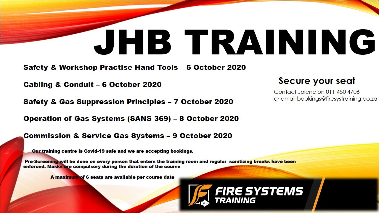 JHB SAQCC Fire Training